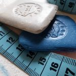 tailors chalk and measuring tape