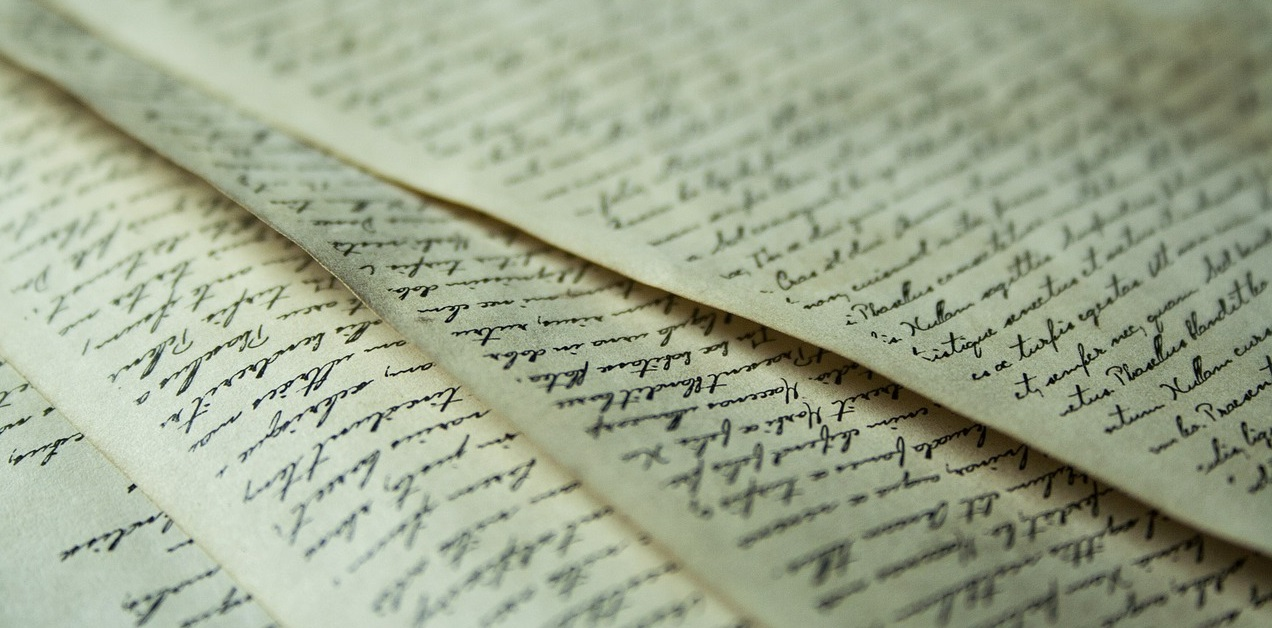 handwritten papers